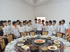 两年大厨一班学习5个月宴席场景