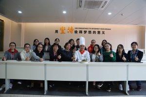 长安福特公司来重庆新东方开展周末