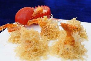 金丝奶酪虾