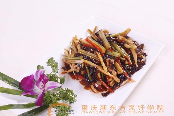 重庆新东方烹饪学院_烹饪菜谱-鱼香肉丝