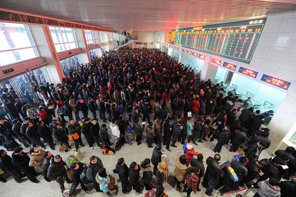 比如在杭州买到沈阳的火车票