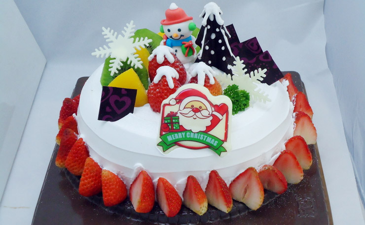 主题蛋糕 让这个圣诞嗨起来!
