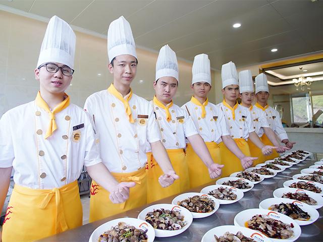 2020年安徽新東方烹飪學院招生火熱進行中